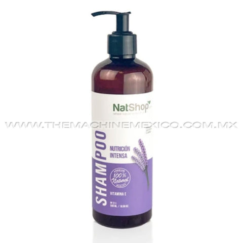 Natural shampoo - Organic lavender and vitamin E 500ml