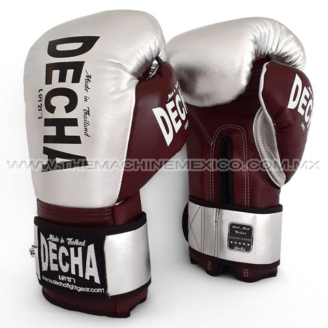 Guantes Muay Thai Decha Fight Pro Performance 3.0 Plata