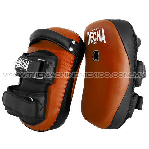 Thai Curved Decha Pads Genuine Leather