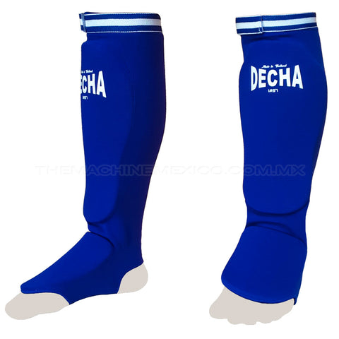 Elastic Shin Guards Decha Sock Blue