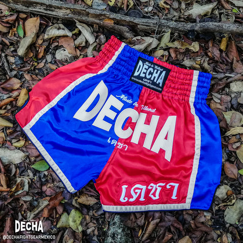 shorts muay thai decha fight bandera thai