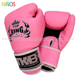 Guantes Box Top King para Niños rosa