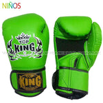 Guantes Box Top King para Niños verde