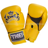 Guantes para box muay thai top king super air amarillo  compra en mexico
