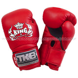 Guantes para box muay thai top king super air rojo  compra en mexico