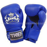 Guantes para box muay thai top king super air azul  compra en mexico