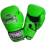 Guantes para box muay thai top king super air verde  compra en mexico