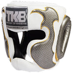 Careta Box Pro Sparring Top King Empower Blanca