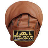 Machine Fight Leather Curved Mitts
