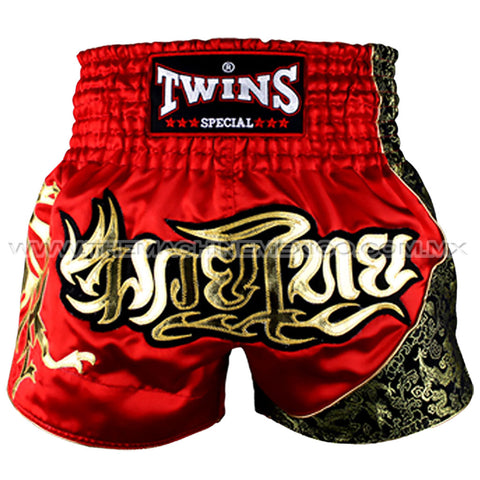Twins Special Shorts Muay Thai Dragon Jade