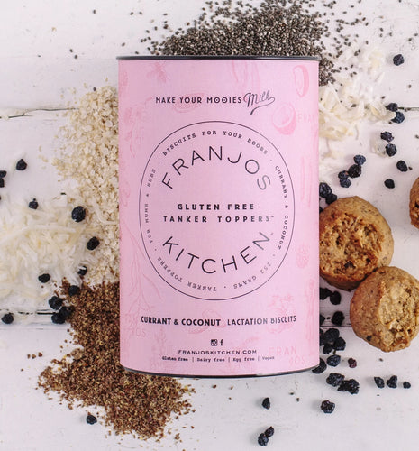 Franjos Kitchen Lactation Biscuits Gluten Free (Currant & Coconut) 250g