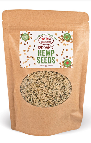 2DIE4 FOODS Organic Hemp seeds 600G