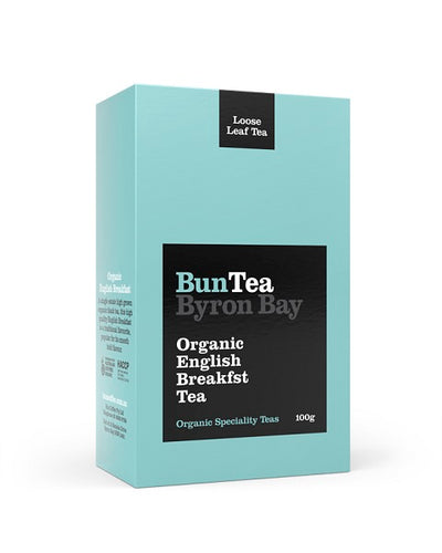 BunTea Byron Bay Organic English Breakfast Tea - Loose -100g