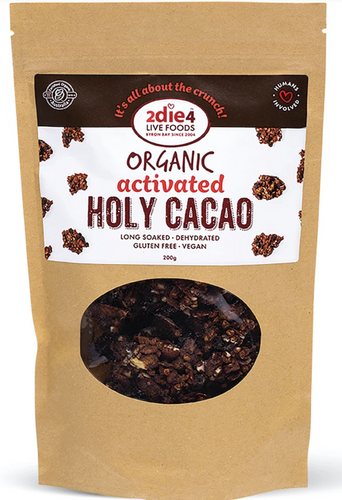 2DIE4 FOODS ACTIVATED ORGANIC HOLY CACAO 200g