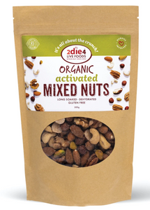 2DIE4 FOODS ACTIVATED ORGANIC MIXED NUTS