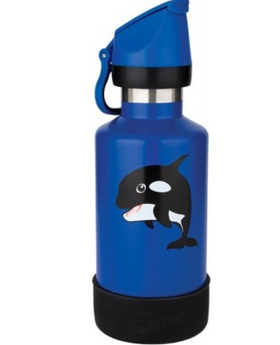 CHEEKI Kids Bottle Insulated - Orca 400ml