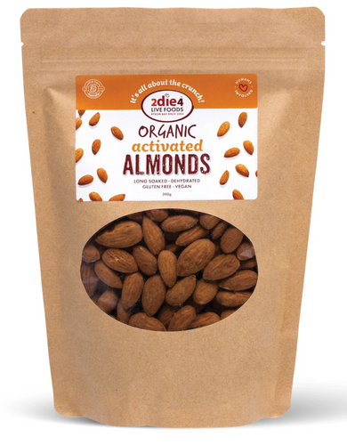 2DIE4 FOODS ACTIVATED ORGANIC ALMONDS