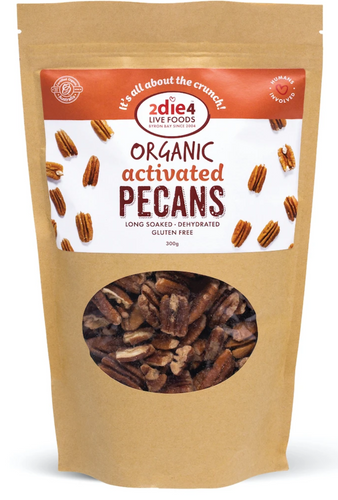 2DIE4 FOODS ACTIVATED ORGANIC PECANS