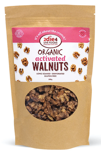 2DIE4 FOODS ACTIVATED ACTIVATED ORGANIC WALNUTS