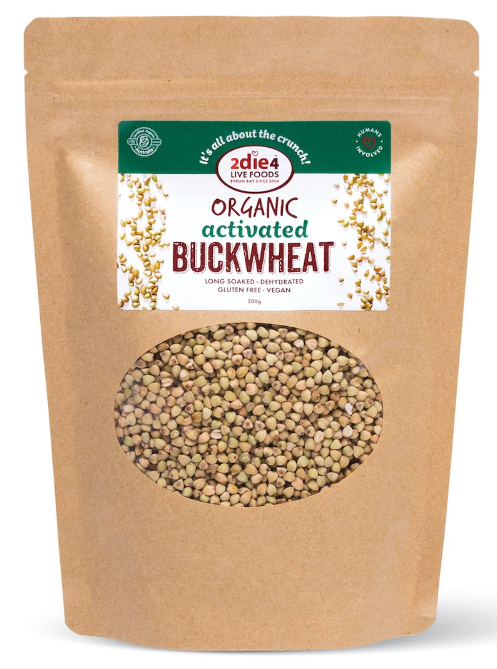 2die4 ACTIVATED ORGANIC BUCKWHEAT