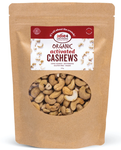 2die4 ACTIVATED ORGANIC CASHEWS