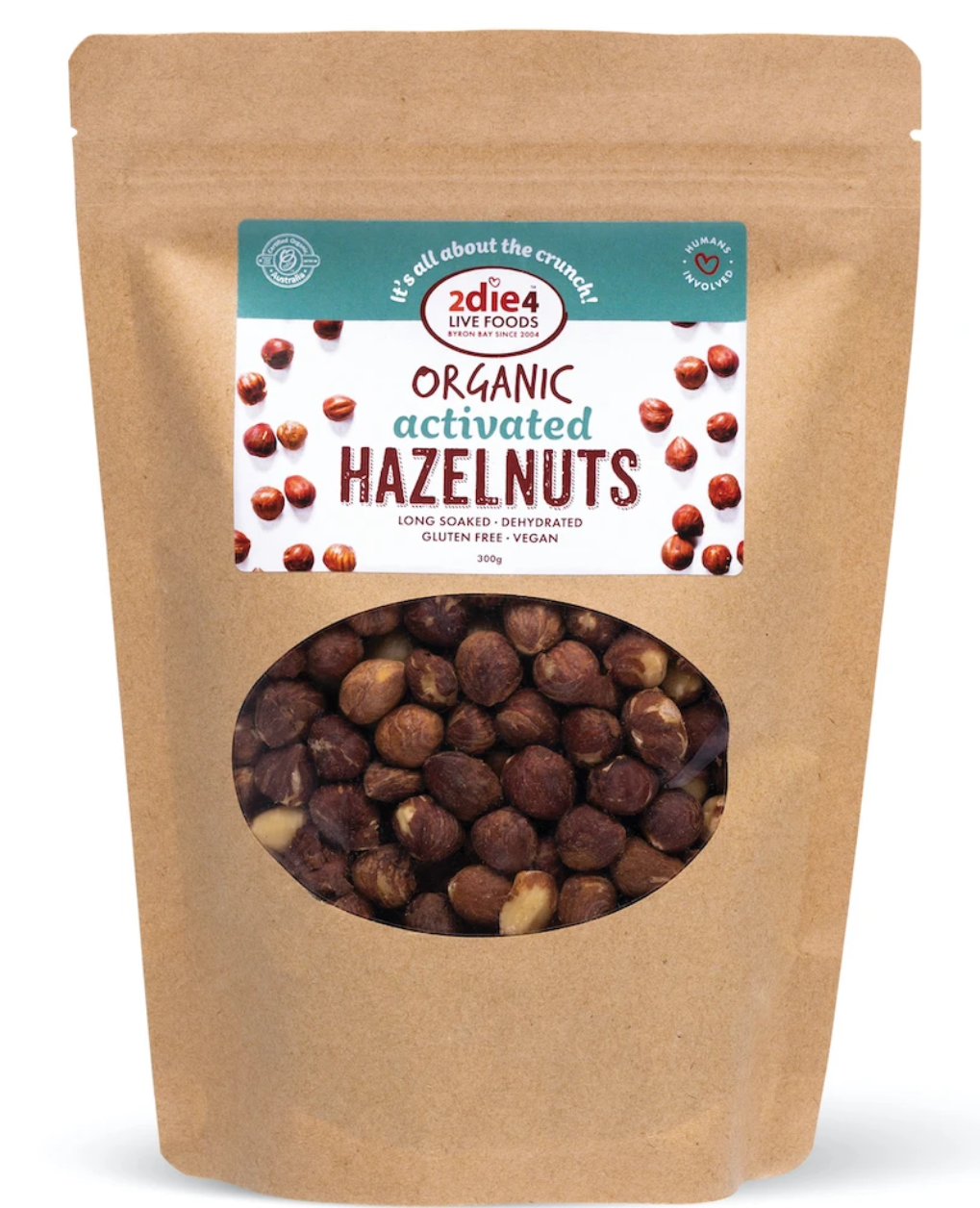 2die4 ACTIVATED ORGANIC HAZELNUTS