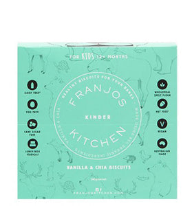Franjo's Kitchen Kinder Biscuits Vanilla & Chia 140g