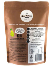 Load image into Gallery viewer, The Monday Food Co Crunchy Peanut Butter - Keto Granola (I'm Vegan) 300g