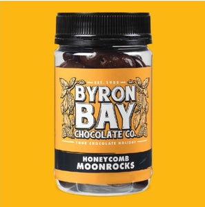 BYRON BAY CHOCOLATE CO - HONEYCOMB MOONROCKS 210g
