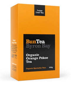 BunTea Byron Bay Organic Orange Pekoe Loose Leaf 100g