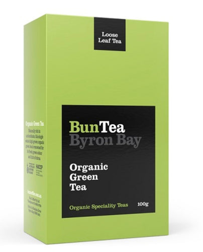 BunTea Byron Bay Organic Green Tea - Loose - 100g