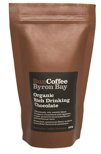 Bun Coffee Byron Bay Organic Rich Drinking Chocolate 250g
