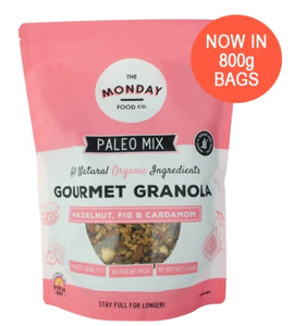 The Monday Food Co Hazelnut, Fig & Cardamom - Paleo Granola 300g & 800g