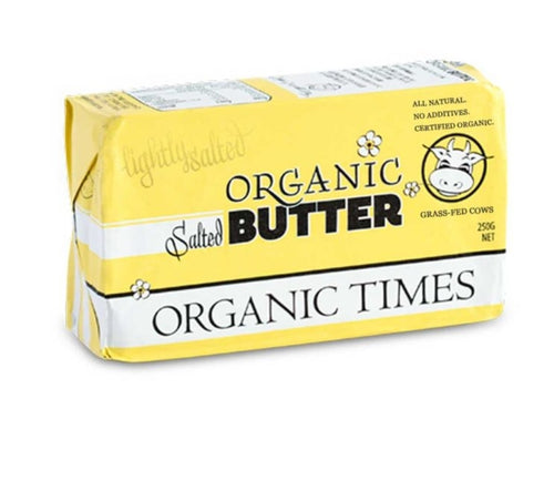 Organic Times Organic Butter salted 250g