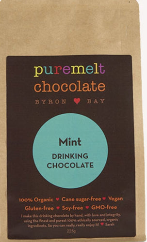 Pure Melts Byron Bay Drinking Chocolate - Mint