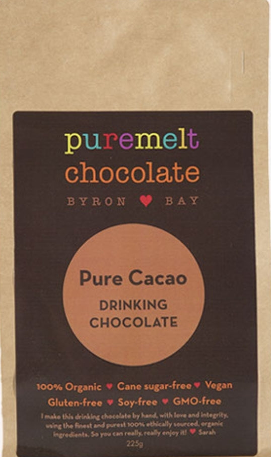 Pure Melts Byron Bay Drinking Chocolate - Pure Cacao