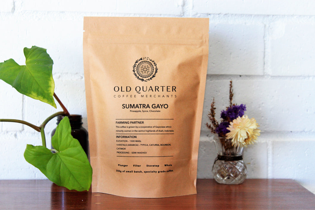 Old Quarter Coffee SUMATRA - GAYO OCEN - Filter 250g