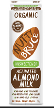 Load image into Gallery viewer, Nutty Bruce Unsweetened Almond Milk 1l