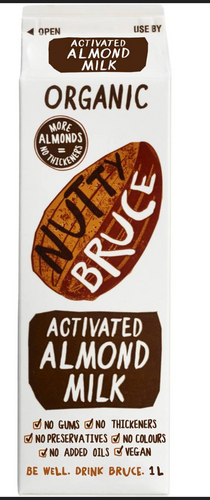 Nutty Bruce Organic Almond Milk 1l