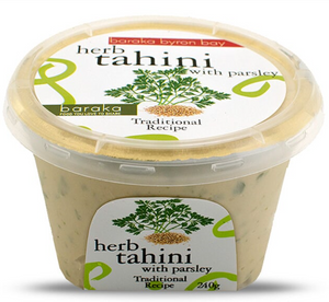 Baraka Byron Bay Herb Tahini with Parsley 240g