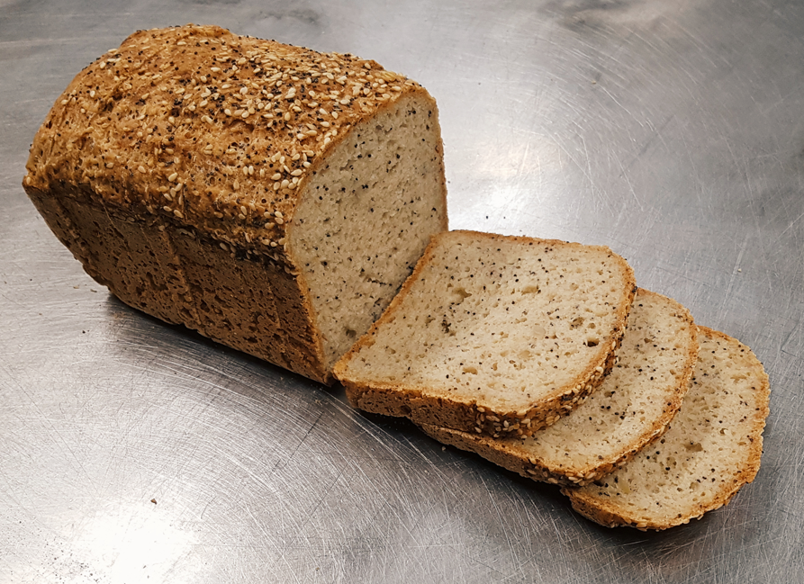 Paleo Seeded Loaf (Sliced) (Gluten Free & Vegan)