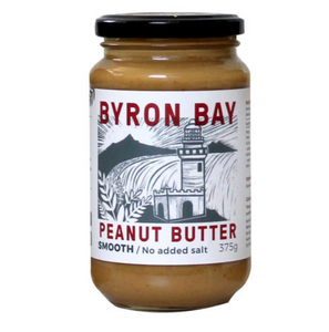 Byron Bay Peanut Butter 375G - Smooth