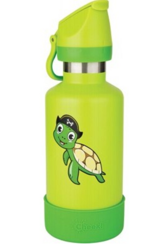 CHEEKI Kids Bottle Insulated - Turtle - 400ml