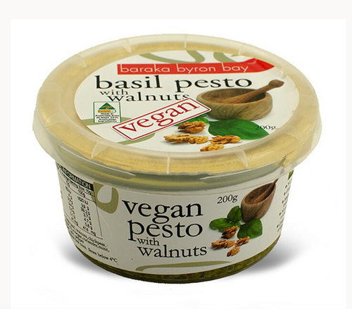 Baraka Byron Bay Basil Pesto with Walnuts 200g