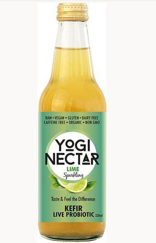 Yogi Nectar Lime Probiotic Kefir 330ml