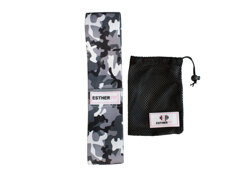 EstherFit™ Camo Band (Medium/ Heavy Resistance)