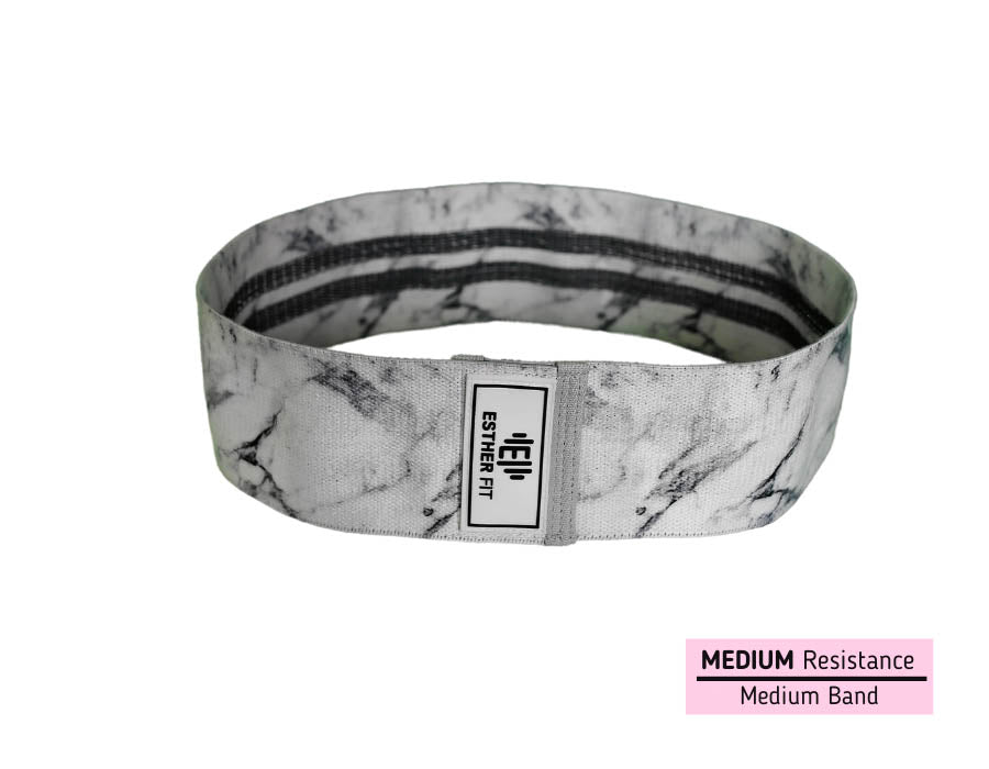 EstherFit™ White Marble Glute Band
