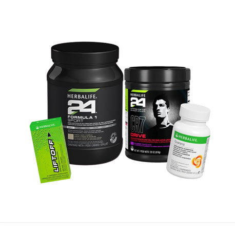 Pack fórmula 1 sport + Liftoff +Guarana + CR7 Drive