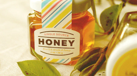 Artist-Designed Honey Favors