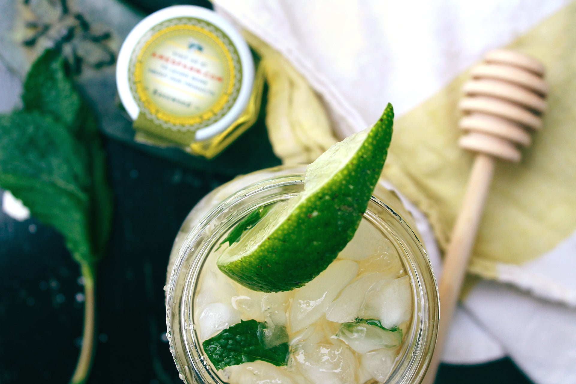 Basswood Honey Mojito Recipe from Ames Farm